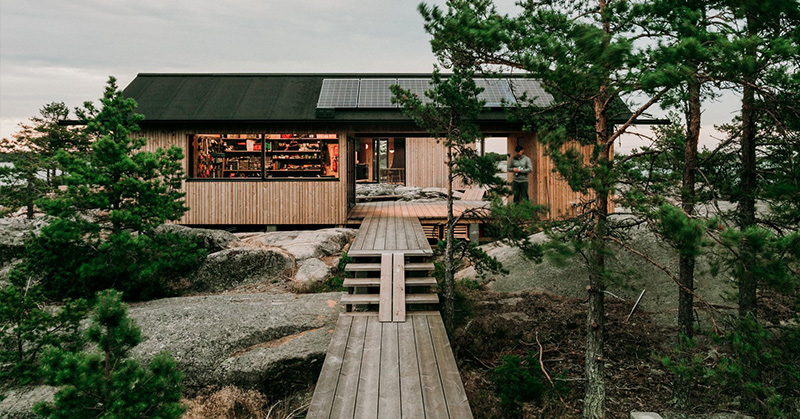 project O cabins finland