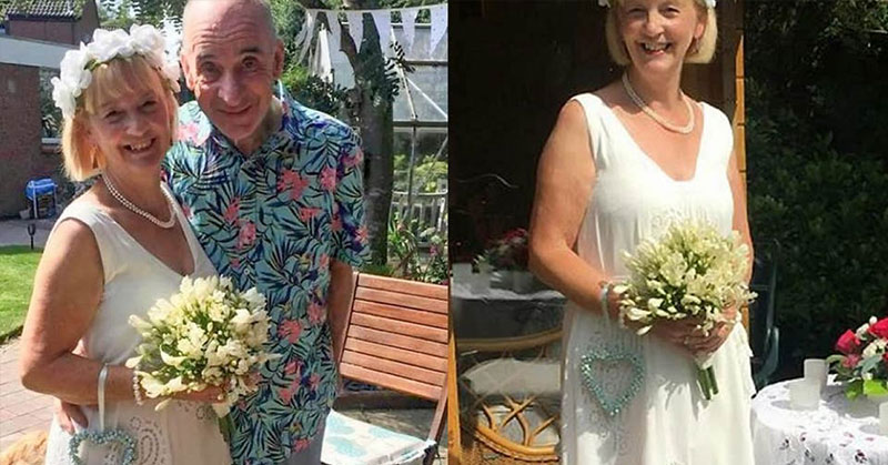 man with dementia marries wife