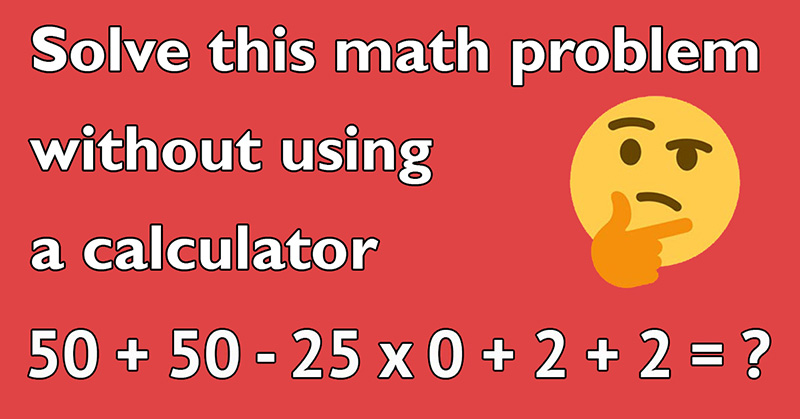 can you solve this math problem