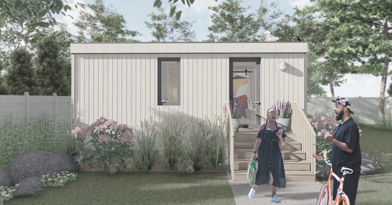 company leases backyards to build tiny homes